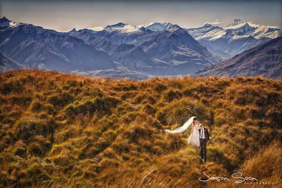 Destination Wedding Photography - Wanaka, New Zealand