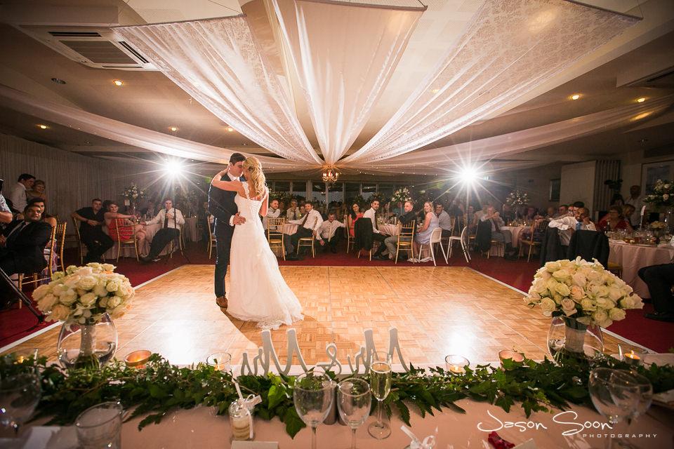 Perth yacht club wedding