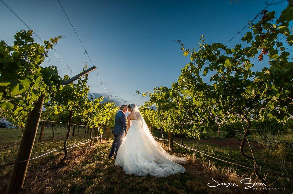 Glamourous Backyard Wedding in Perth