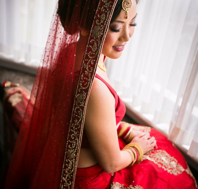 A Blend Of Two Beautiful Traditions- Kim Weds Ravin