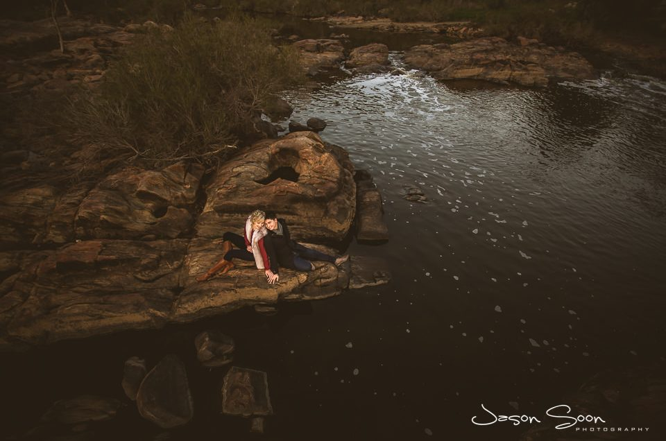 A Beautiful Engagement Shoot at Bells Rapids