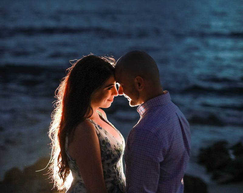 A Beachy Engagement Shoot With Kara and Radi