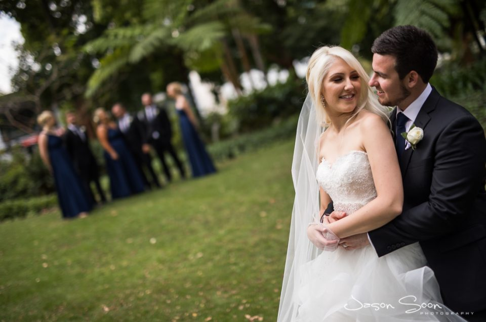 A Ceremony Held At Harold Boas Gardens: Claire Weds Lance