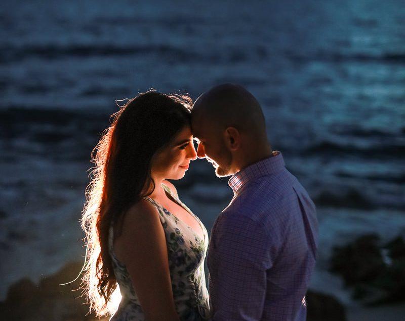 A Beachy Engagement Shoot With Kara and Radi